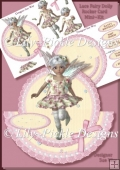 Lace Fairy Doily Rocker Card Topper and Decoupage