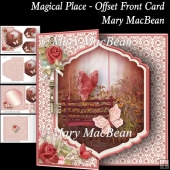 Magical Place - Offset Front Card