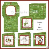 Beary Christmas Cards Kit