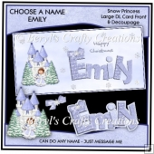 Choose a Name Snow Princess - Emily