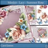 Minikit - Lacy - Summer Rose