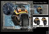 Speed demon motorbike