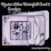 Wynter Lilies Waterfall Card