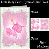 Little Baby Pink - Pyramid Card Front