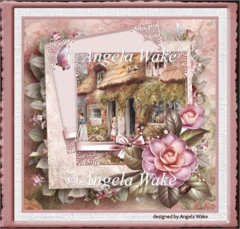 Camelia and cottage