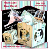 Tail Wags Carousel Box Card
