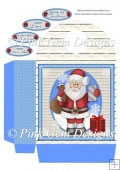 Santa Selfie Large Gift Bag