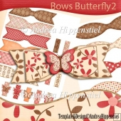 Bows Butterfly 2 mix and match