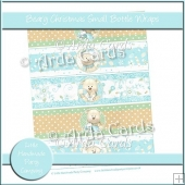 Beary Christmas Small Bottle Wraps