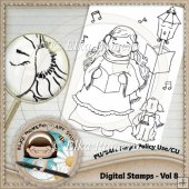 Digital Stamps - Vol 8