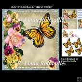 Beautiful Floral Butterfly Mini Kit