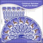 Christmas Reindeer Single Fan Blades