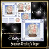 Season's Greeting's Topper