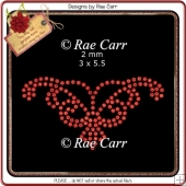 RS814 Rhinestone Template