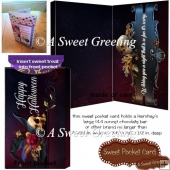 Scary Night Halloween Sweet Pocket Card