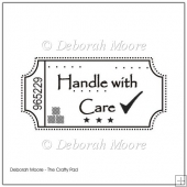 Handle With Care Digital Stamp/Sentiment