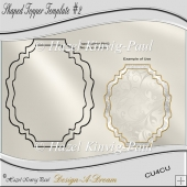 Shaped Topper Template #2