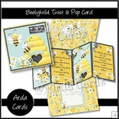 Beelightful Twist & Pop Card