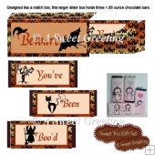 You've Been Boo'd Halloween 1.55 ounce Candy Bar Trio Slider Box