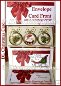 A Sleigh Full of Christmas Wishes DL Card Set with Decoupage