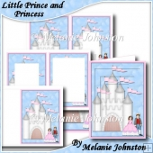 Little Prince and Princess - Birthday Card