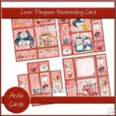 Lovin' Penguins Neverending Card