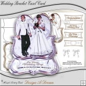 Wedding Bracket Easel Card
