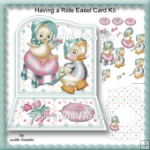 Having A Ride Easel Card Kit