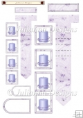 Lilac Candle Waterfall