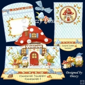 Gnome Sweet Gnome Easel Card