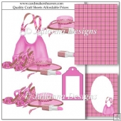 All in Pink Decoupage Set