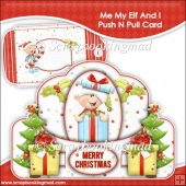 Me My Elf and I Push N Pull Card & Envelope