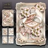 Wedding Engagement Rings Card Mini Kit