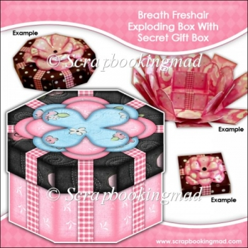 Breath Freshair Exploding Box With Secret Gift Box