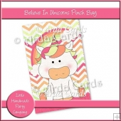 Believe In Unicorns Pinch Bag