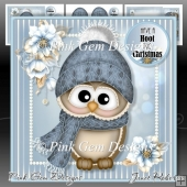Cozy Ollie Mini Kit Christmas Owl