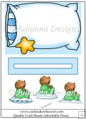 Sleepy Bear Slider Sheet