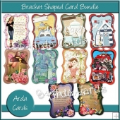 Bracket Shaped Card Bundle
