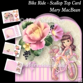 Bike Ride - Scallop Top Card
