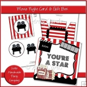 Movie Night Card & Gift Box