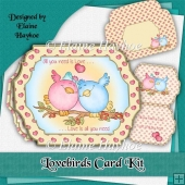 Lovebirds Card Kit