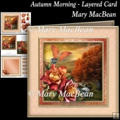 Autumn Morning - Layered Card