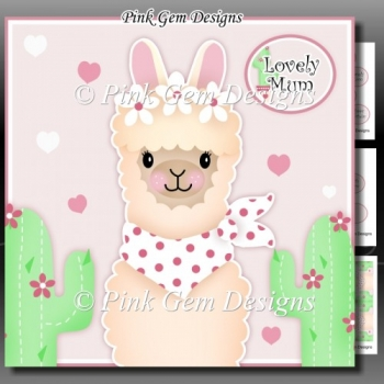 Lovely Mum Mini Kit Birthday/Mothers Day