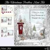 The Christmas Postbox Mini Kit