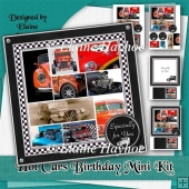 Hot Cars Birthday Mini Kit