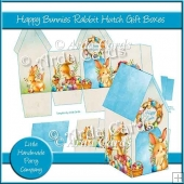Happy Bunnies Rabbit Hutch Gift Boxes