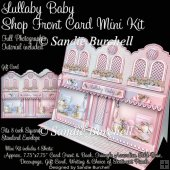 Lullaby Baby Shop Front Card Mini Kit