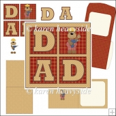 Dad Fix It Square Card Kit