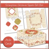 Scrumptious Christmas Square Gift Box