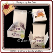 082 Jewelry Box with Lilacs *HAND & MACHINE Formats*